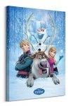 Frozen (Snow Group) - Obraz na płótnie