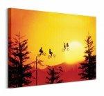 Obraz dla dzieci - ET (Sunset) - 80x60 cm