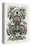 Folk Floral I - obraz na płótnie
