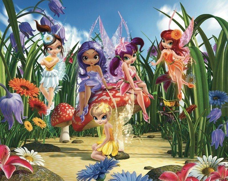 Fototapety Do Pokoju Dziewczynki Bajkowe 3d Disney Sklep