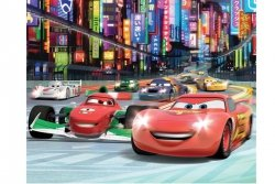 Tapeta - Disney Cars 2 - 3D - Walltastic - 243,8x304,8cm