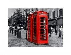 Czerwona Budka - Londyn - reprodukcja