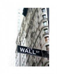 Wall Street - znak - reprodukcja