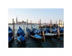 Wenecja - gondole - reprodukcja