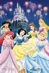 Disney Princess Glamour - plakat