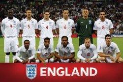 England F.A (Team Shot) - plakat