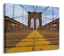 Obraz na ścianę - Most Brukliński - 120x90 cm