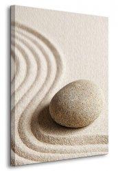 Obraz do sypialni - Wzory na piasku - 90x120 cm