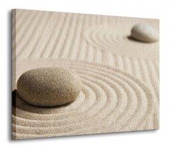 Obraz na wymiar - Wzory na piasku IV - 120x90 cm