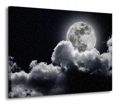 Obraz na ścianę - Pełnia księżyca - 120x90 cm
