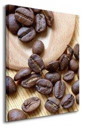 Ziarna kawy III - Obraz na płótnie