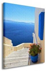 Grecja - Obraz na płótnie