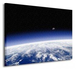Planeta Ziemia - horyzont - Obraz na płótnie
