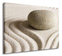 Zen stone - Obraz na płótnie