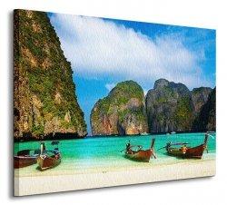 Maya Bay, Thailand - Obraz na płótnie