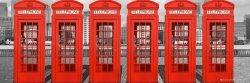 London Phoneboxes - plakat