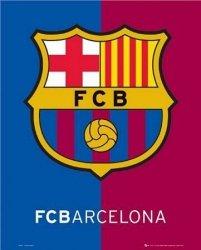 Barcelona - Godło klubu - plakat