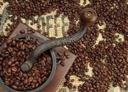 Fototapeta do kuchni - Stary młynek do kawy - 254x183 cm