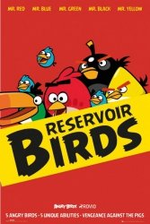 Angry Birds Reservoir Birds - plakat