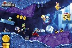 Nintendo Mario Under - plakat