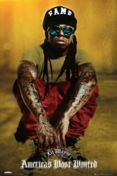 Lil Wayne Shades - plakat