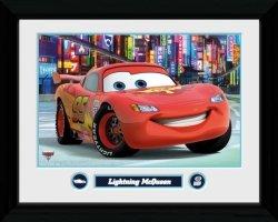 Obraz na ścianę - Cars 2 Lightning McQueen - 40x30 cm