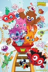 Moshi Monsters Rollercoaster - plakat