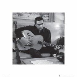 Johnny Cash Man In Black (Guitar) - reprodukcja