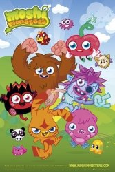 Moshi Monsters Group - plakat