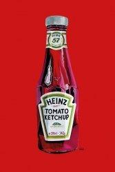 Heinz (Tomato Ketchup) - plakat