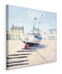 Moored Boat - Obraz na płótnie