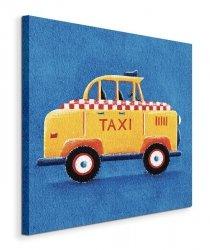 Yellow Taxi - Obraz na płótnie