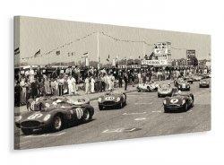 Tourist Trophy (TT), Goodwood, 1959 - Obraz na płótnie