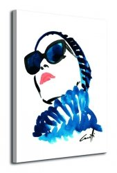 In Blue - Obraz na płótnie