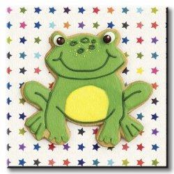 Obraz dla dzieci - Happy Hoppy Frog - 30x30 cm