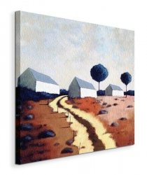 Hillside Path - Obraz na płótnie