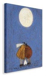 A Moon To Call Their Own - Obraz na płótnie