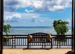 Fototapeta na ścianę - Widok na morze, Mauritius - 254x183 cm