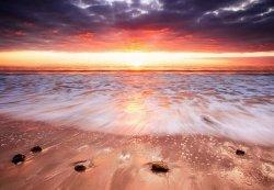 Fototapeta na ścianę - Zachód słońca, Australia - 366x254 cm