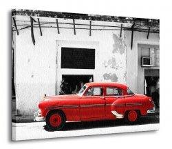 Cadillac, Havana Cuba - Obraz na płótnie
