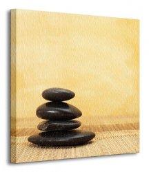 Gorący kamień - Obraz na płótnie