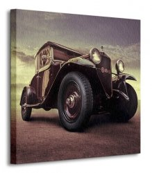Luksusowy samochód, Vintage - Obraz na płótnie
