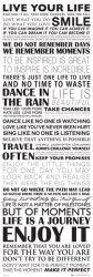 Żyć Twoim Życiem - plakat