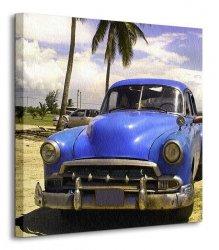 Kuba, limuzyna - Obraz na płótnie