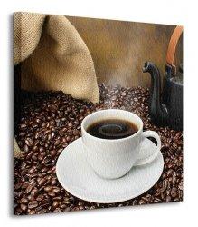 Old fashioned coffee brewing - Obraz na płótnie