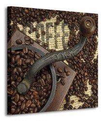 Old Coffee Grinder - Obraz na płótnie