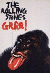 Rolling Stones (Grr!) - obraz na drewnie