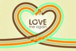 Love me again - plakat