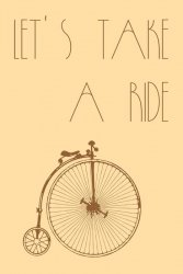Let`s take a ride - plakat