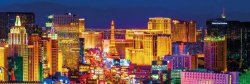 Las Vegas panorama - plakat